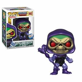 FUNKO POP SKELETOR WITH BATTLE ARMOR METALLIC