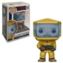 FUNKO POP STRANGER THINGS HOPPER IN BIO HAZARD SUIT
