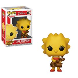 FUNKO POP THE SIMPSONS LISA WITH SAXOPHONE