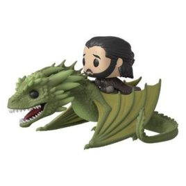 FUNKO POP GAME OF THRONES JON SNOW WITH RHAEGAL