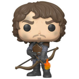 FUNKO POP GAME OF THRONES THEON WITH FLAMING ARROWS