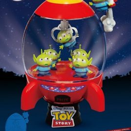 D-STAGE TOY STORY ALIEN ROCKET DLX