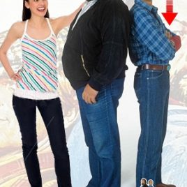 BUD SPENCER & TERENCE HILL 1:1 CUTOUT