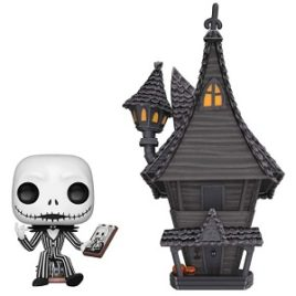 FUNKO POP NIGHTMARE BEFORE CHRISTMAS JACK WITH JACK'S HOUSE