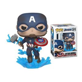FUNKO POP CAPTAIN AMERICA WITH SHIELD & MUOLNIR